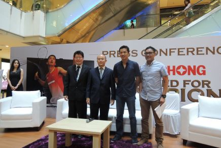 Changhong brand ambassador appointment press conference