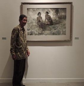 Huang Fong's half century works inretrospective