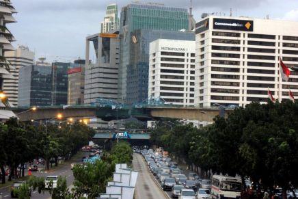 Jakarta under construction