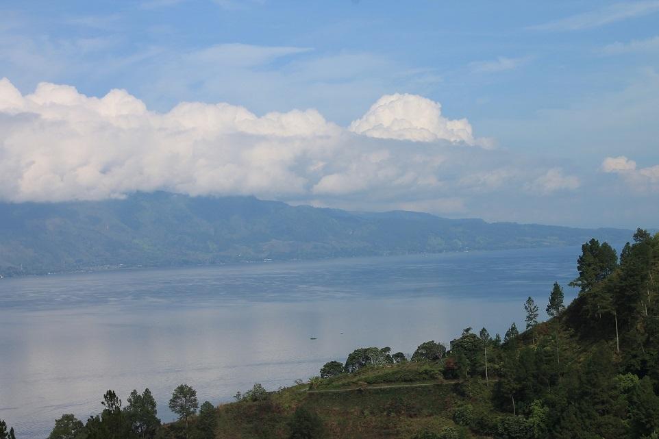 Noon at Toba Lake