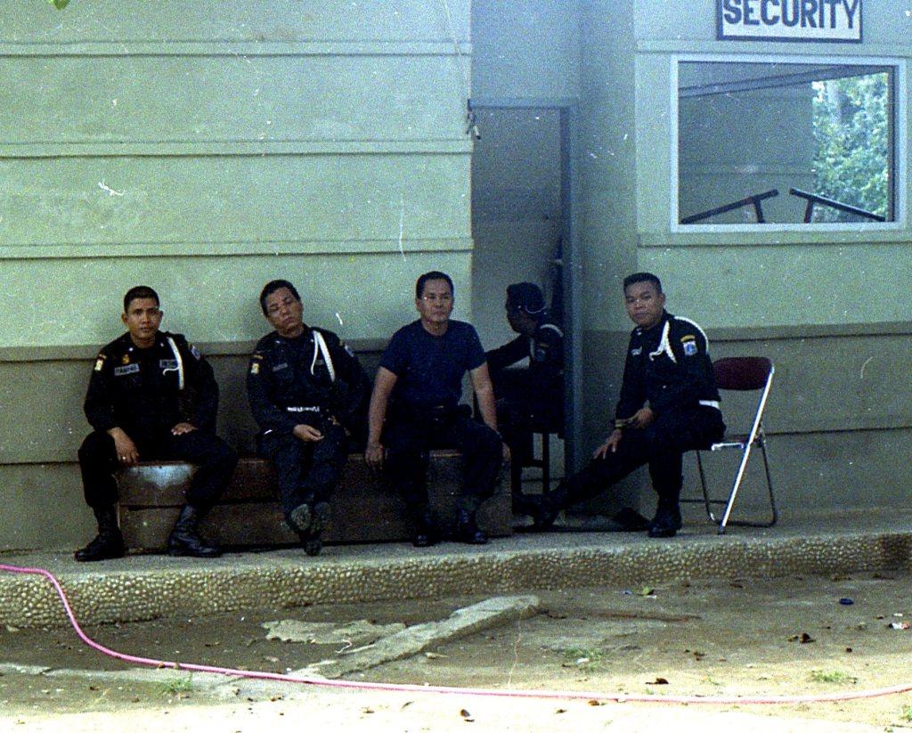 Lapangan Banteng security post 2