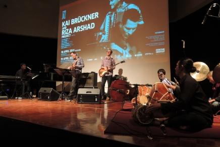 East meets west in jazz concert at Goethe HausJakarta