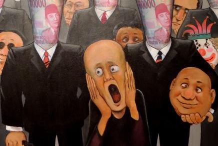 A satire in Serangan Fajar KartunPolitik