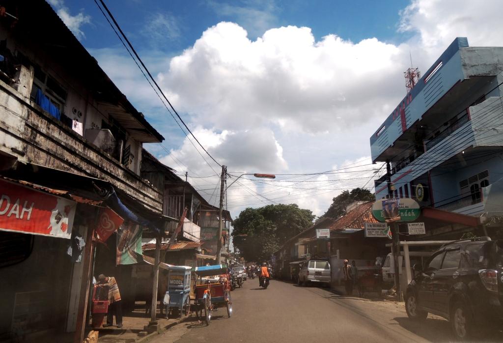 Palembang old city