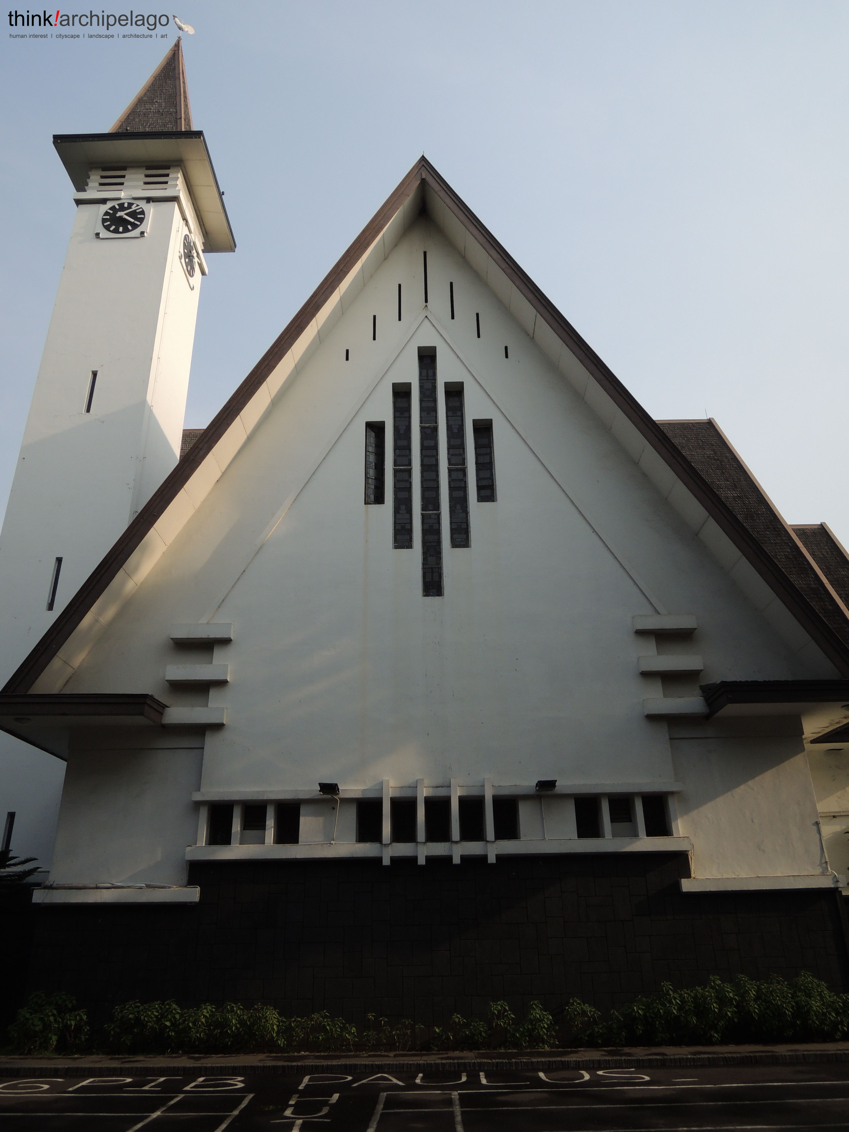 The rooster church of Menteng