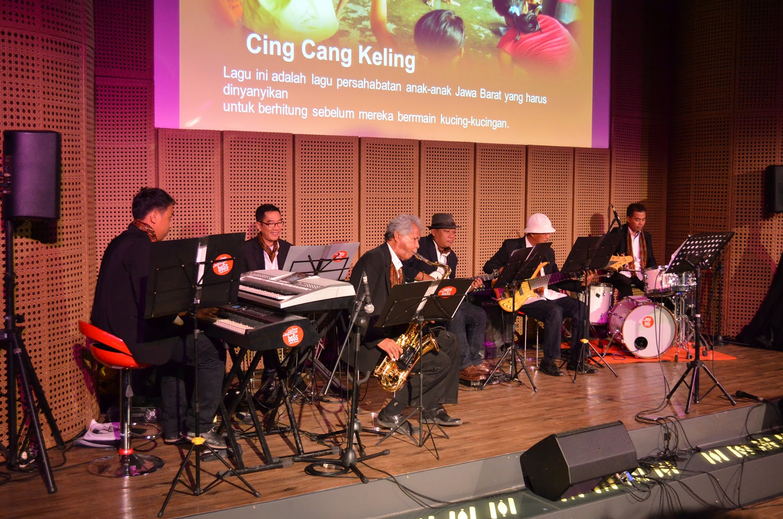 Swing boss jazz band