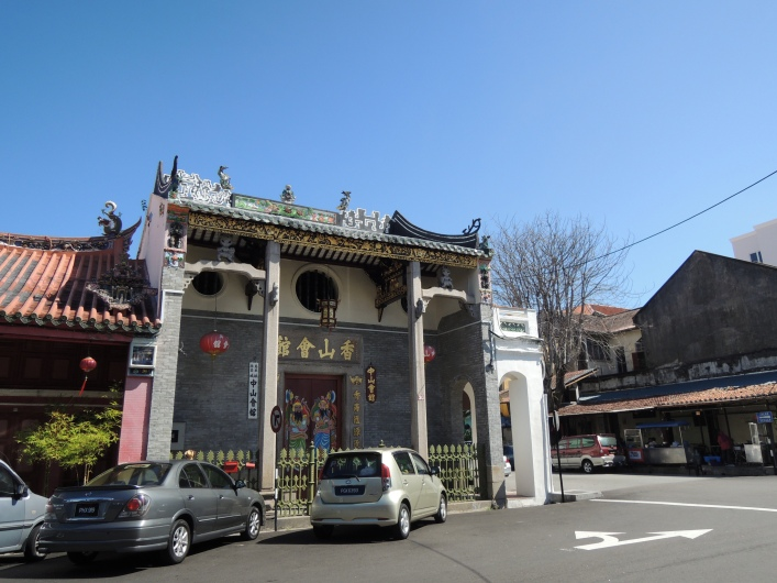 Chinese settlers brought together with them the complete set of culture, not least this type of structure, rich in decoration and well-conserved.