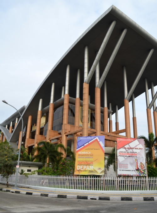 Award winning Soeman HS Library in Riau