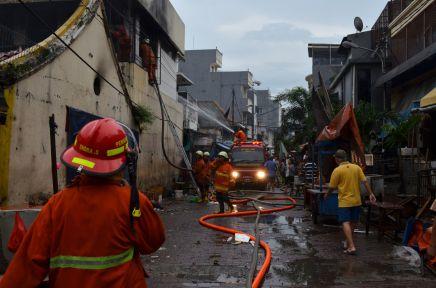 FIRE IN JIN DE YUANTEMPLE