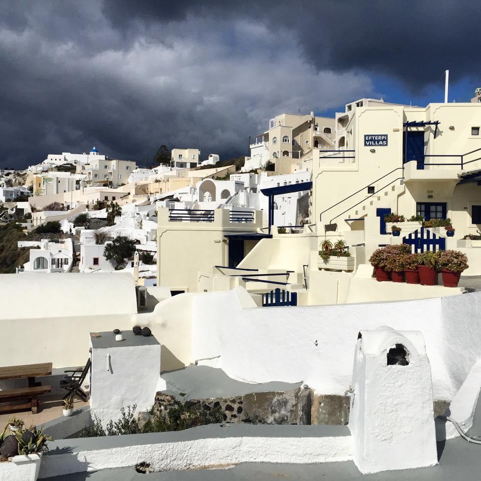 The cliff settlement