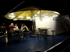 Costa Atlantica deck's bar
