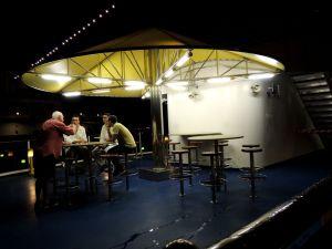 Costa Atlantica deck's bar