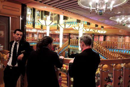 Night at the cruiseship