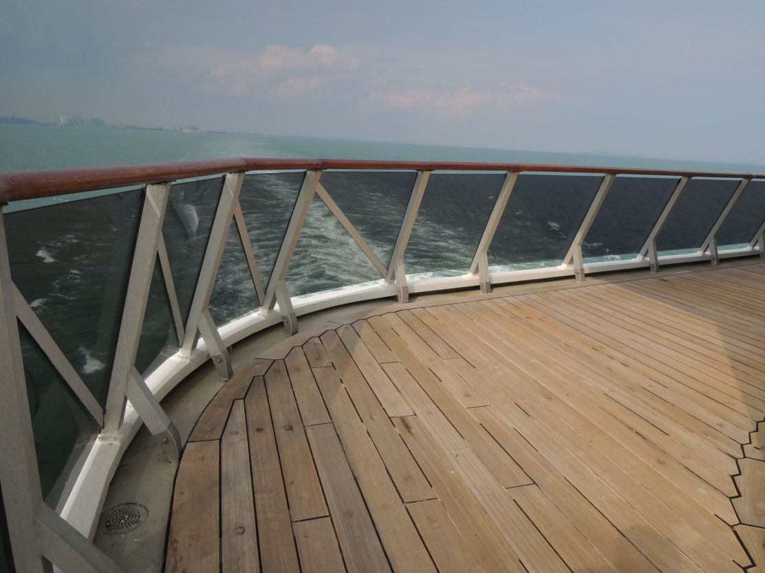Costa Atlantica stern deck