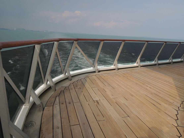 Costa Atlantica stern deck