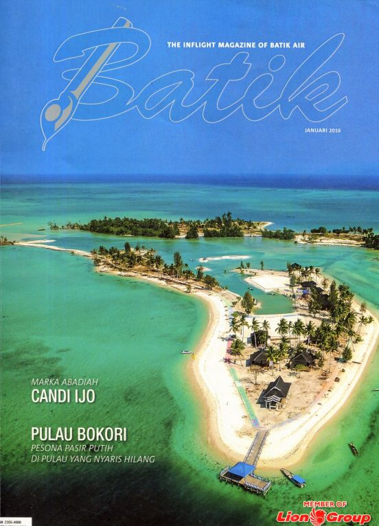 The inflight magazine of Batik Air, Batik, January 2016