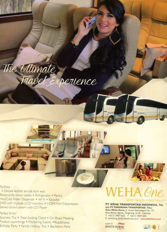 WEHA One ad in Batik, January 2016