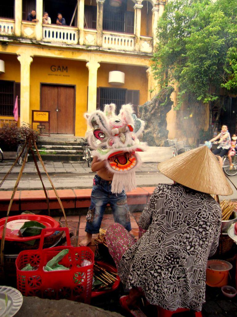 Lion Dance vietnam