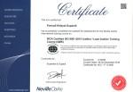 IRCA-certified ISO 9001:2015 QMS lead auditor certificate, Purnadi Hidayat Supandi