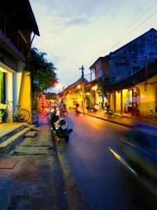 The Street at dawn