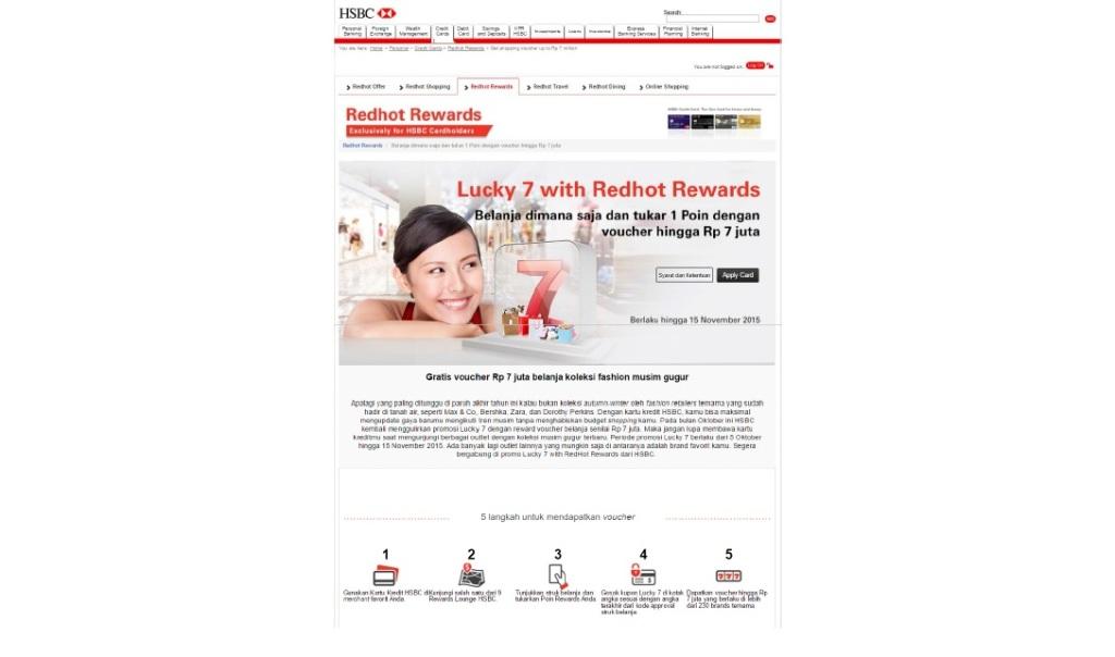 HSBC Lucky 7