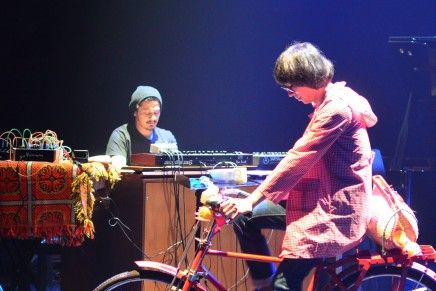 Pianist and drummer experimental collaboration in Jazz Buzz2018