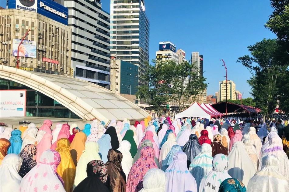 Joged Idul Fitri dan kebebasan beragama diTaiwan