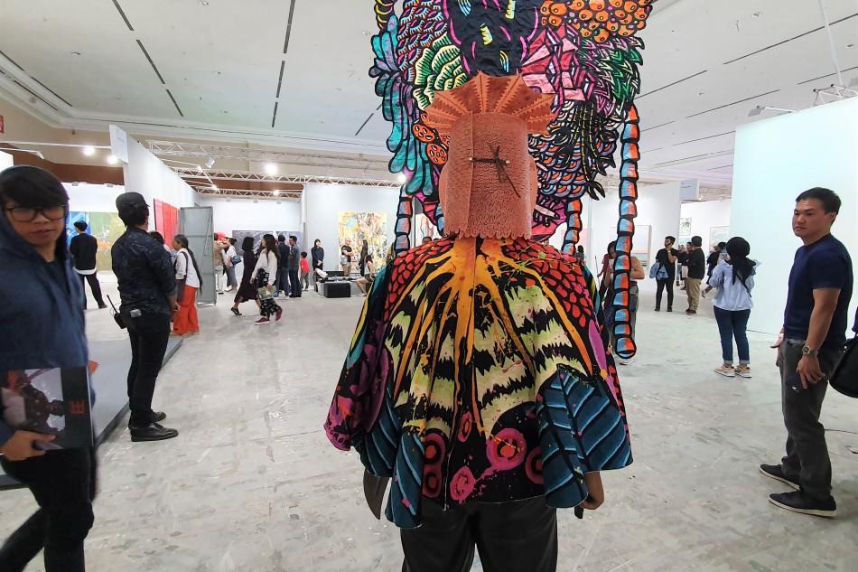 International collaboration in Art Jakarta2019