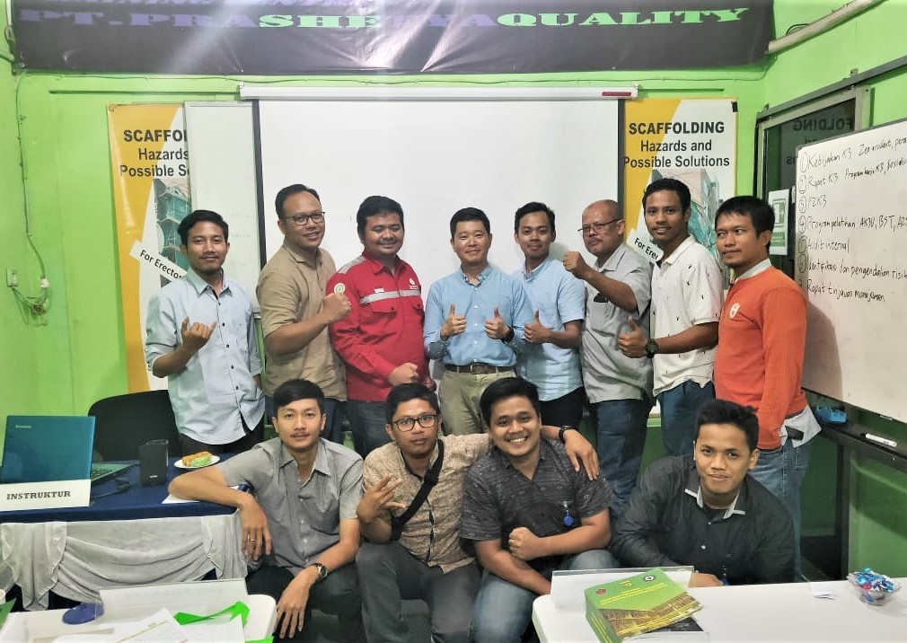 Ahli K3 Umum trainer, SMK3, Prashetya Quality, November 2019