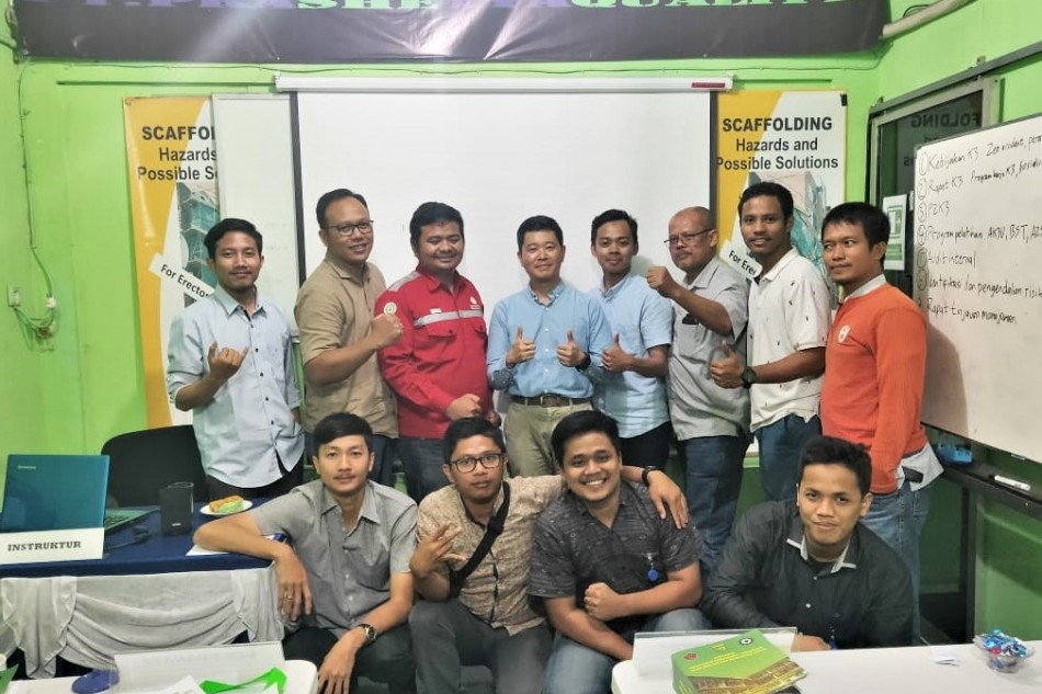 Pelatihan SMK3 bersama PrashetyaQuality