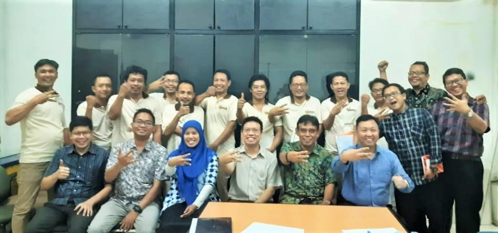 Sertifikasi ISO 9001 pabrik keramik Essenza, Tangerang, Januari 2020