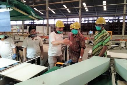 Audit sertifikasi ISO 9001 dan ISO SNI 13006, PT Internusa KeramikAlamasri