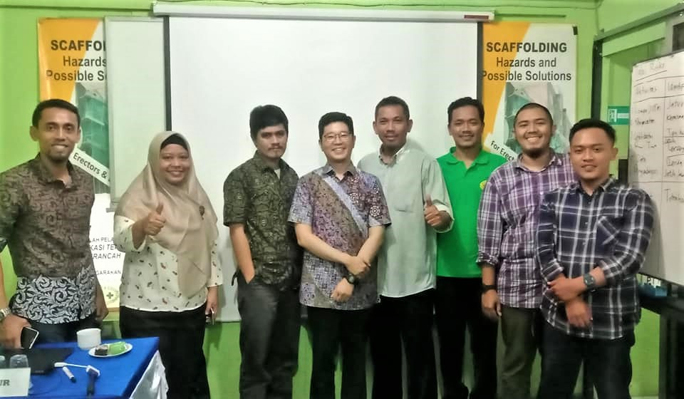 Foto bersama calon Ahli K3 Umum, Prashetya Quality, Jakarta, 11 Maret 2020
