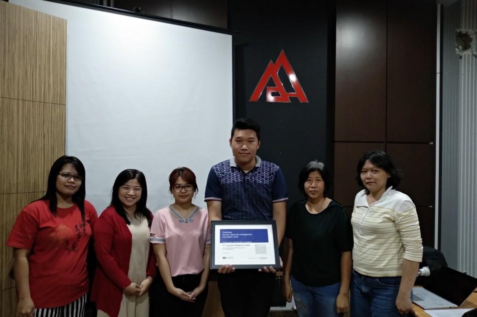 PT Anugrah Metalindo Abadi HR management foundation leveltraining