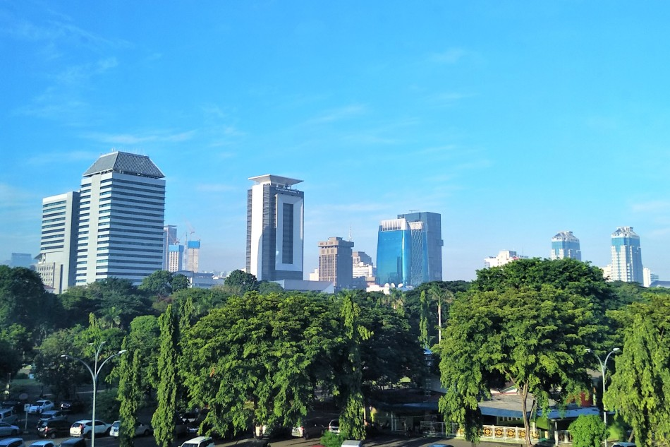 Jakarta air quality during pandemic lockdown