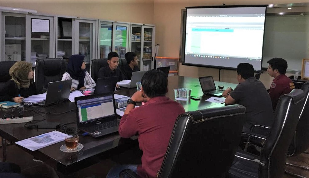 Pelatihan internal Autodesk Civil 3D, BMIS