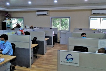 PT Global Jaya Maritimindo integrated management system re-certification