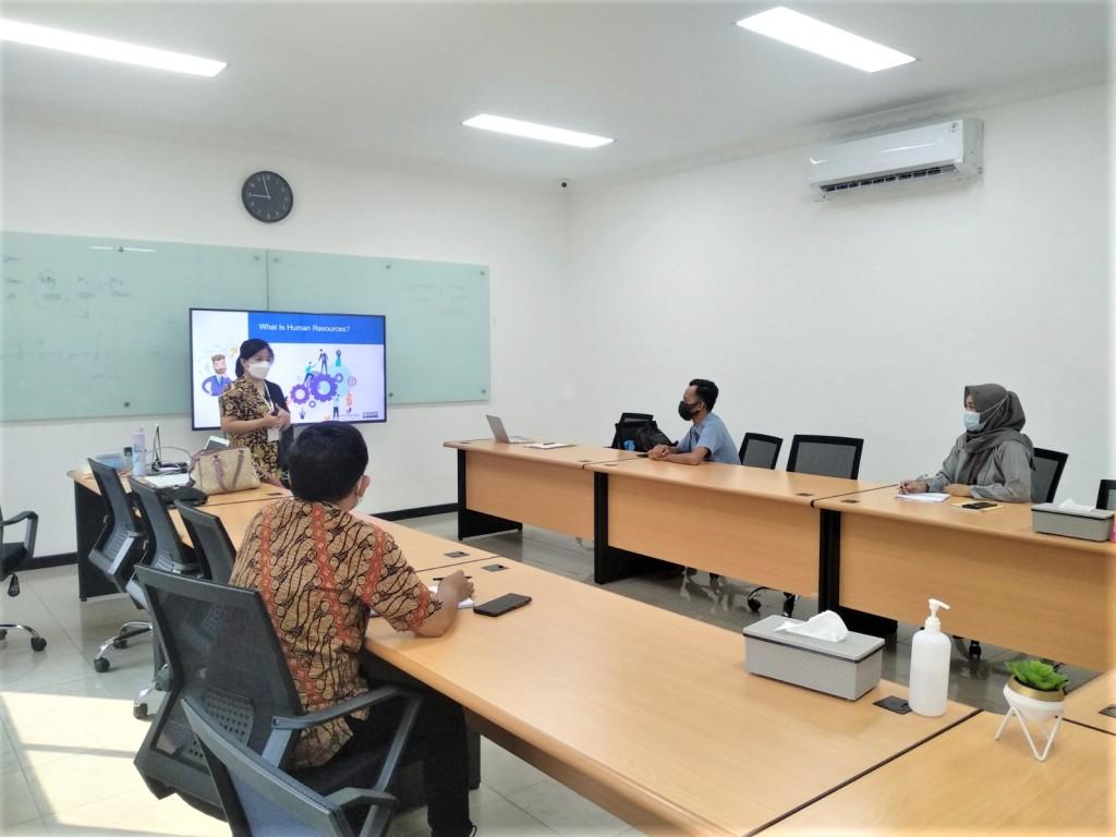 ASPI human resources management training at PT Primadaya Plastisindo