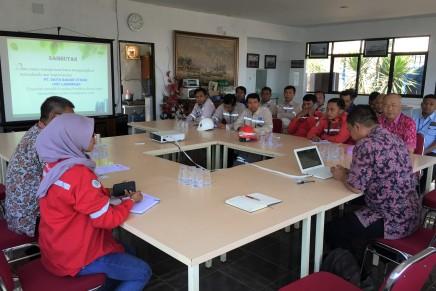 Audit survailen sistem manajemen integrasi MK3L di PT Daya RadarUtama
