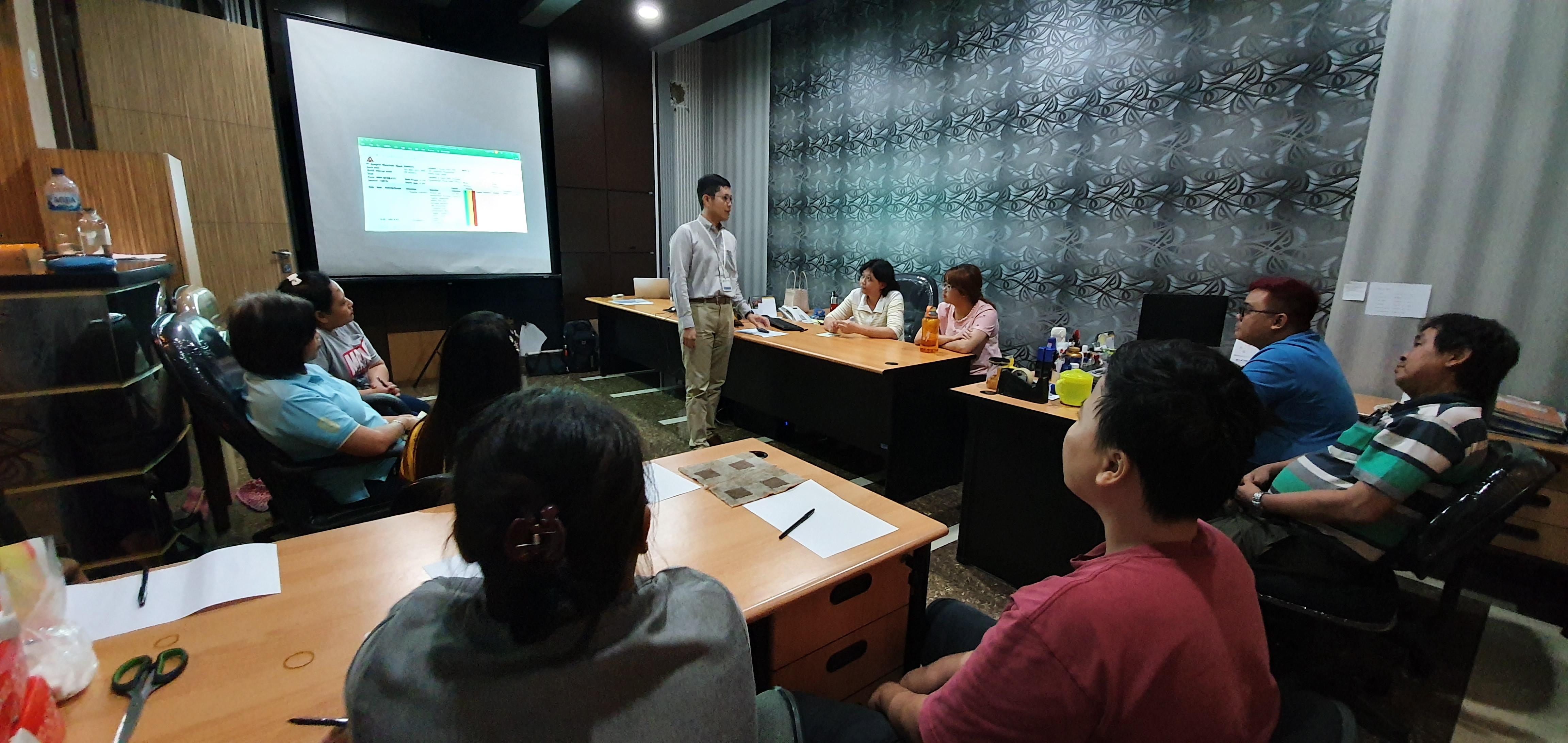 Audit internal ISO 9001 di pabrik dynabolt Wowo, 2020